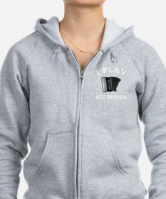 Accordion Designs Zip Hoodie