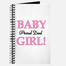 Baby Girl Proud Dad Journal