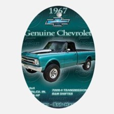 Bobs Chevy Oval Ornament