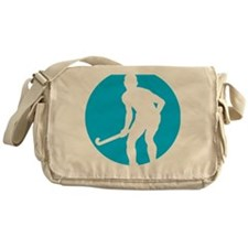 field hockey player Messenger Bag