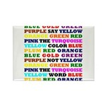 The Color Conundrum Rectangle Magnet (100 pack)