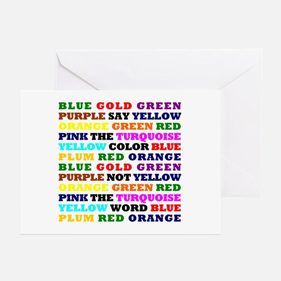 The Color Conundrum Greeting Cards (Pk of 10)