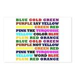 The Color Conundrum Postcards (Package of 8)