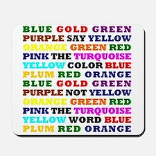 The Color Conundrum Mousepad