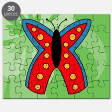 Butterfly Small Serving Tray Puzzle