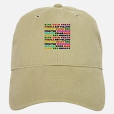 The Color Conundrum Baseball Baseball Cap