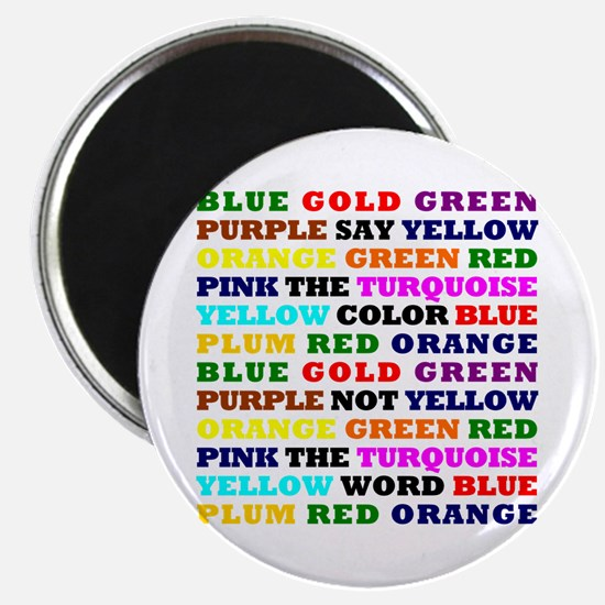 """The Color Conundrum 2.25"""" Magnet (100 pack)"""