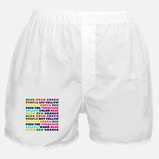 The Color Conundrum Boxer Shorts