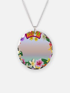 Hawaii frame Necklace