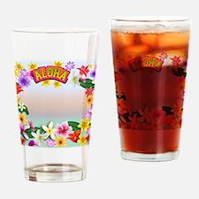 Hawaii frame Drinking Glass