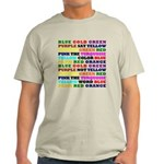 The Color Conundrum Light T-Shirt