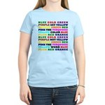 The Color Conundrum Women's Light T-Shirt