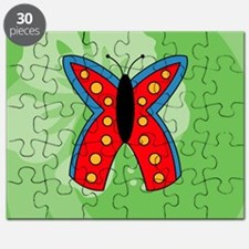 Butterfly Mens All Over Print T-Shirt Puzzle