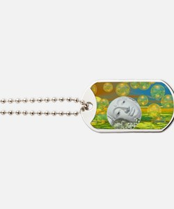 Peace – Golden and Emerald Serenity Dog Tags