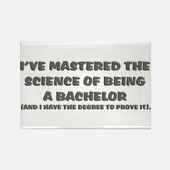 Bachelor of Science Graduation Rectangle Magnet (1