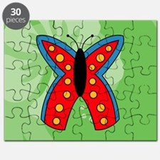 Butterfly Kids All Over Print T-Shirt Puzzle
