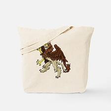 Heraldic Griffin Tote Bag