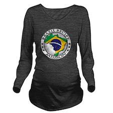 Brazil Recife LDS Mi Long Sleeve Maternity T-Shirt
