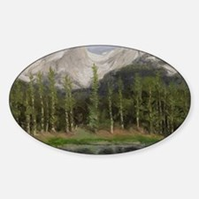 Hallett Peak Colorado Decal