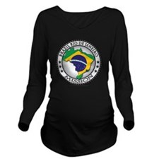 Brazil Rio De Janeir Long Sleeve Maternity T-Shirt