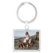 Deb and gang Landscape Keychain
