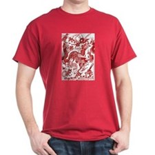 Autumn Rust Multidragon T-Shirt