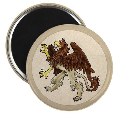 "Heraldic Griffin 2.25"" Magnet (10 pack)"