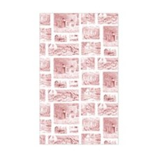 English Cottages curtain Decal