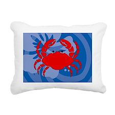 Crab 5 X 7 Area Rug Rectangular Canvas Pillow