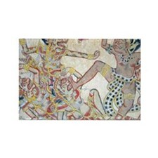Good vs Evil- Balinese Image T-Sh Rectangle Magnet