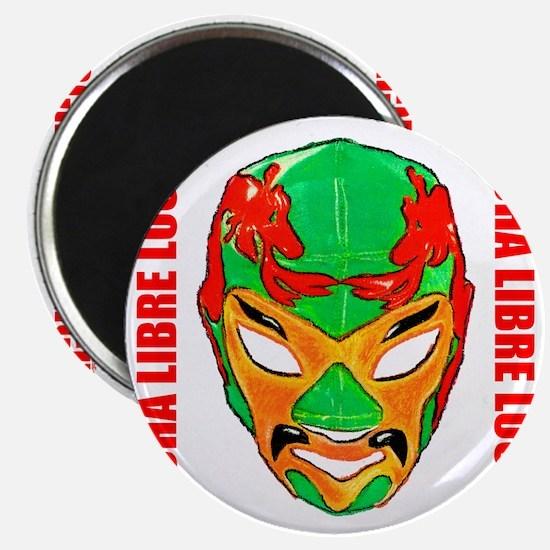Mexican Wrestling Mask T-Shirt Magnet