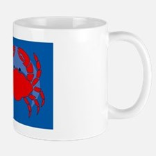 Crab Car Flag Mug