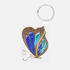 Bejeweled Butterfly Keychains