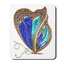 Bejeweled Butterfly Mousepad