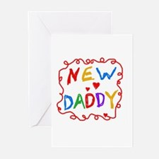 New Daddy Greeting Cards (Pk of 10)