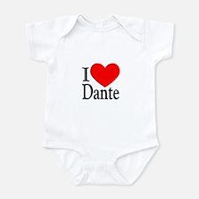 I Love Dante Onesie