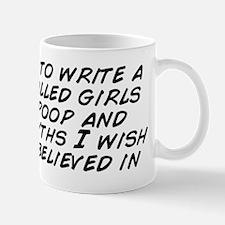 Decided to write a book called girls do Mug