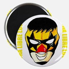 Mexican Wrestling Mask T-Shirt Magnet