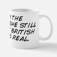even in the morning, she still thinks m Mug