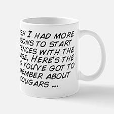 I wish I had more reasons to start sent Mug