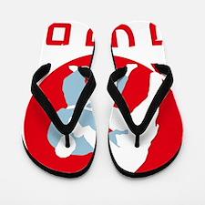 judo fighters Flip Flops