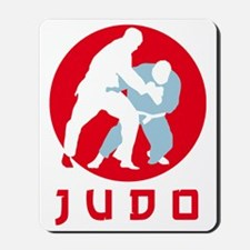 judo fighters Mousepad