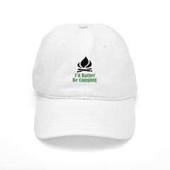 Rather Be Camping Baseball Cap