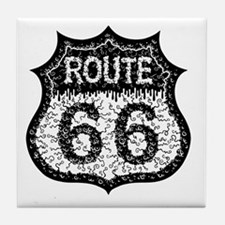 rt66-21613-bw-T Tile Coaster