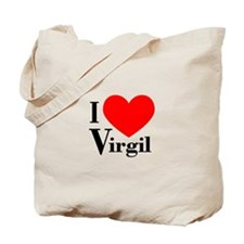 I Love Virgil Tote Bag