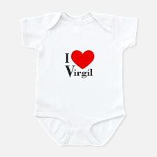 I Love Virgil Infant Bodysuit