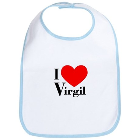 I Love Virgil Bib