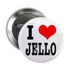 I Heart (Love) Jello Button