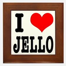 I Heart (Love) Jello Framed Tile