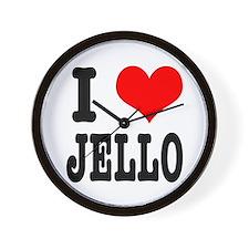 I Heart (Love) Jello Wall Clock